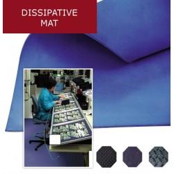Microcells Static dissipative mat