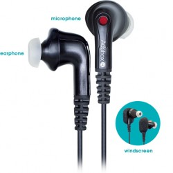 Adphox - BM3-200 Binaural Microphone and earphone