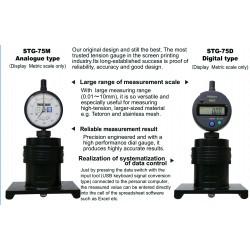 Protec - Serie 75 Medidor de tensión para Protector de impresión Pantalla de impresión