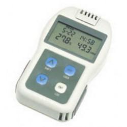 Medidor portátil de temperatura y humedad