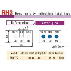 Asey Etiqueta para monitoreo de humedad